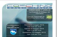 Coaching calcio Italia: al via il corso base di 1^livello