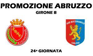 Gir B. Sulmona - Bucchianico 1 - 1. Peligni sempre in zona retrocessione