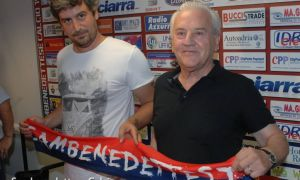 Fedeli e il figlio Andrea