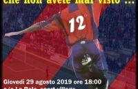 Giovedí 29 agosto, sfida tra vecchie glorie de L'Aquila e tifosi