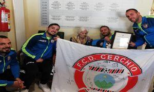 Il Cerchio rispolvera un pezzo di storia: la squadra visita 'mamma Rosa'