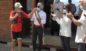 Villa Santa Lucia, festa per l'arrivo di Adelio Amorosi: le interviste